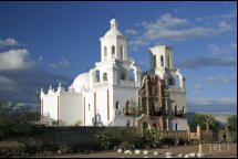 The San Xavier Mission, Old Tuscon, Arizona