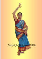 South Indian Classic Dancer